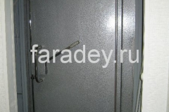 Двери экранированные ручные